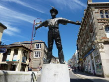 Redruth, Cornish Miner, Cornwall © Tom Jolliffe